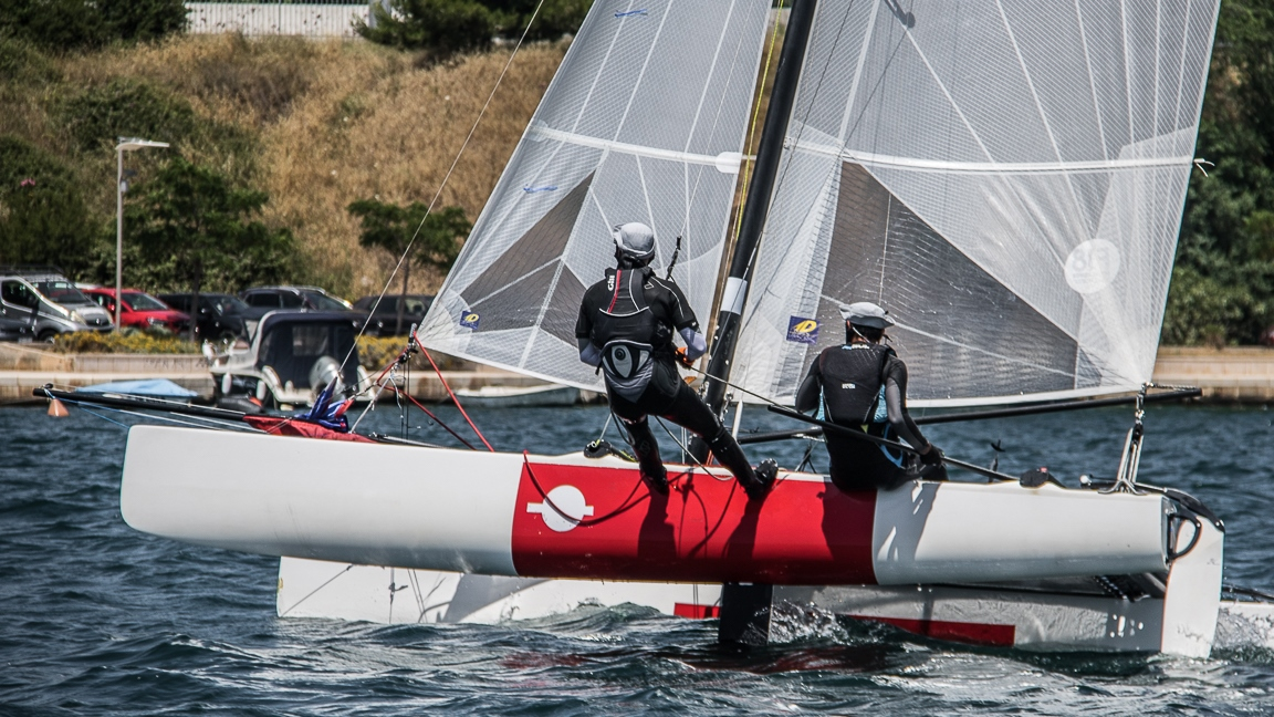 1. Wave Cat Race  •「Katamaran F18」•  Šibenik